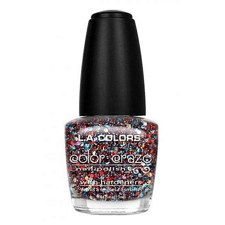 L.A. Colors Nail Polish - Confetti