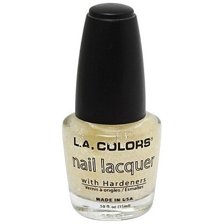 L.A. Colors Nail Polish - Crystal Glitter