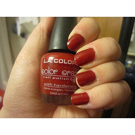 L.A. Colors Nail polish - Hot Blooded