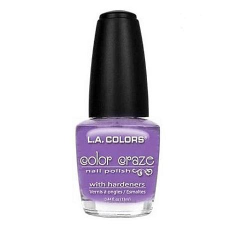 L.A. Colors Nail Polish - Purple Passion