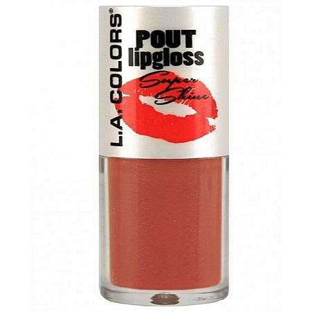 L.A. Colors Pout Lipgloss Super Shine - Butterfly Kiss