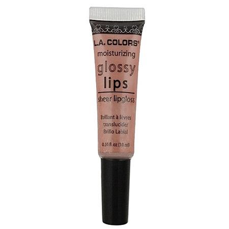 L.A. Colors Sheer Lipgloss - Nude