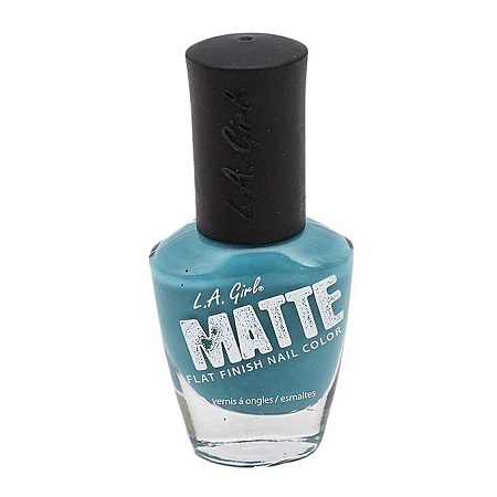 L.A GIRL Matte Polish-Sky Blue