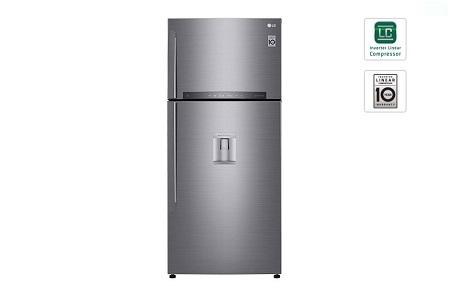 LG 636L/22.46 ft³ Double Door Fridge with Water Dispenser