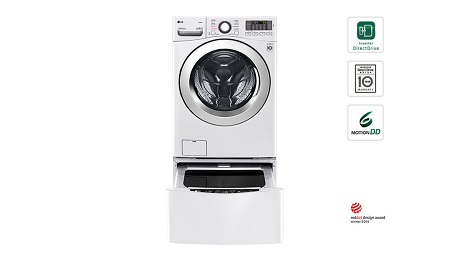 LG TWIN WASH 12/8kg 1000 RPM Front Load Washer/Dryer