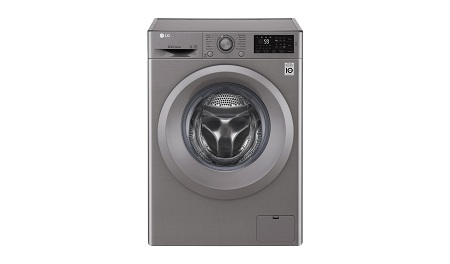 LG 7kg 1200 RPM Front Load Washer, Steam