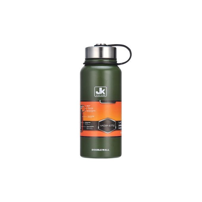 Generic Portable JK Vacuum Flask / Bottle 1.1L - Green