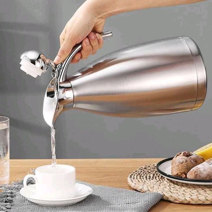 Jamespot 2L Stainless Steel Thermo Vacuum Flask