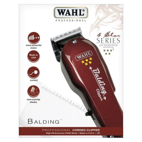 Wahl Balding Professional Corded Hair Clipper/Shaving Machine
