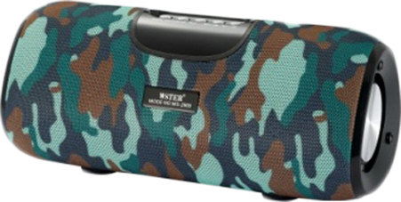 Wester WS-2909 Wireless Bluetooth Speaker Stereo Bass USB/TF/AUX MP3 Portable