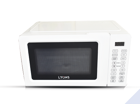 Lyons P70T20AL-V1 Digital Microwave Oven + Grill - 20L - Silver