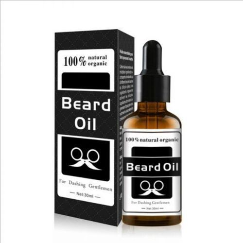 Beard Oil Natural Organic Beard Growth Hair Oil-Nourish Soft And Strong