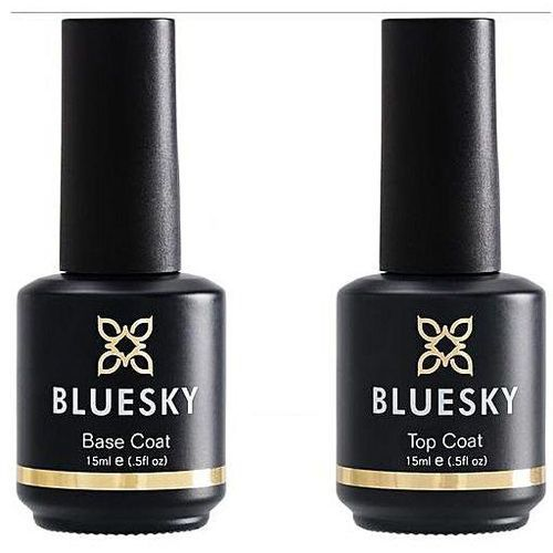 blue sky top coat and base coat