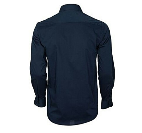 Navy Blue Official Shirt For Men