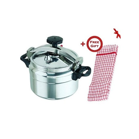 Pressure Cooker Explosion Proof -15 Ltrs (+ Free Hand Towel)