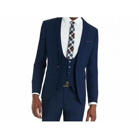 3 Pcs Men's Slim Fit Suit