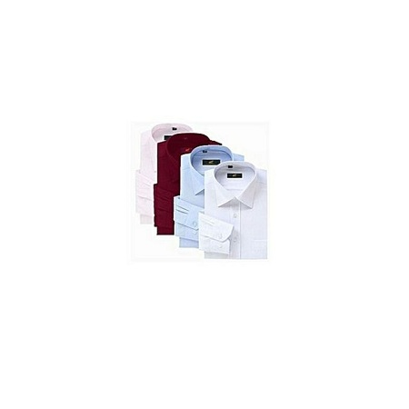 Turkey 4 pack Official Shirts For Men - Slim Fit -White,sky Blue, Maroon And Pink