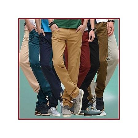 8 Pack Khaki Pants Mens