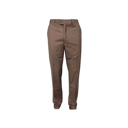 Brown Official trouser with a free pair of SOCKS(any color)