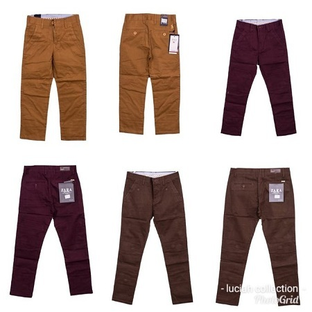 Kids khaki trousers