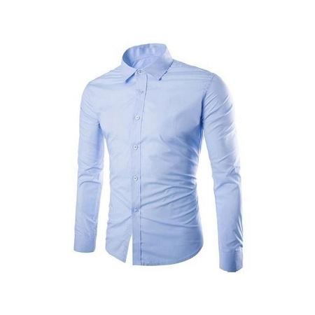 Official Shirt Slim fit-Blue