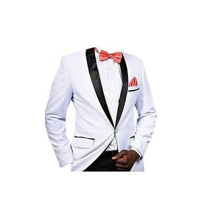 Turkey White Tuxedo Suit
