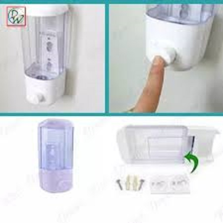 Soap dispenser suction
