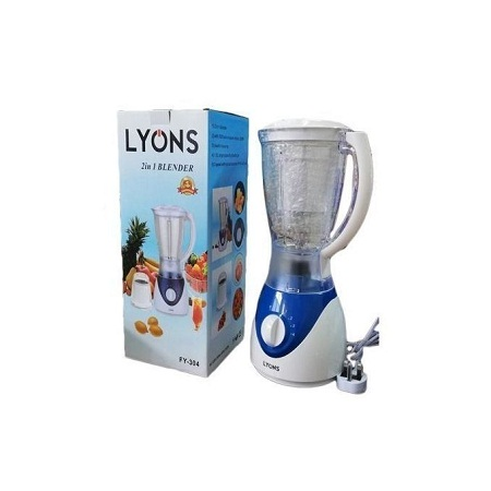 Stylish Lyons 2 In 1 Blender - 1.5L