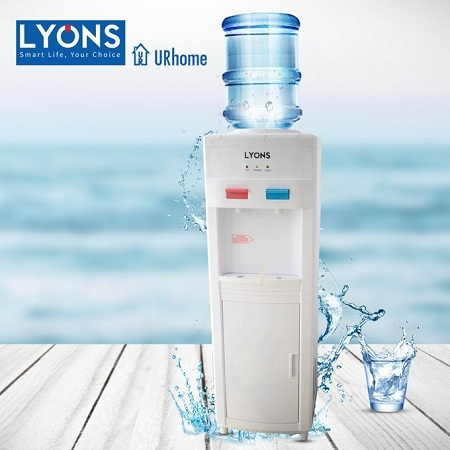 Lyons Hot And Cold Water Dispenser – White