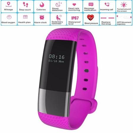 Generic Bluetooth Sport Smart Watches Bracelet Band
