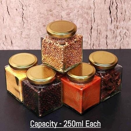 Kitchen Seasoning Box Condiment Storage Containers
