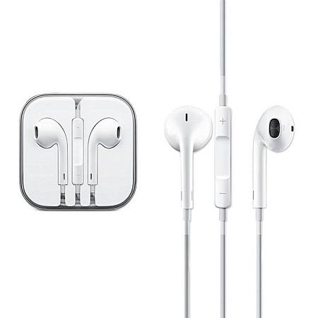iPhone 4/ 5 /6 / 6S / 6 Plus Earphones - White