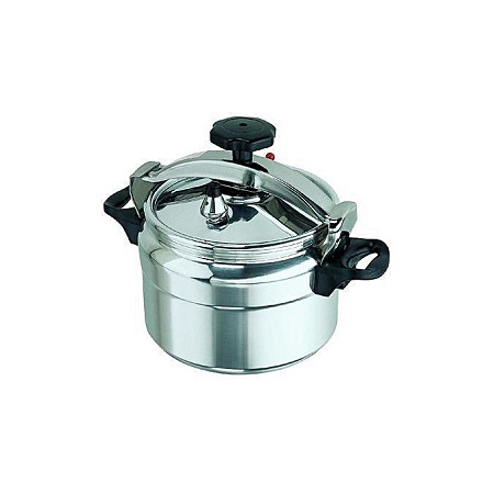 Pressure Cooker - Explosion Proof - 7 Litres - Silver