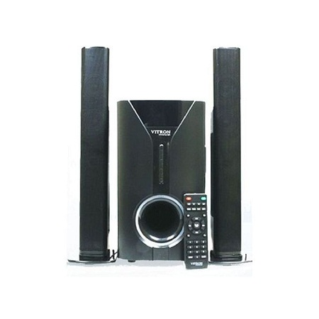 Vitron V527 2.1Ch Multimedia Speaker BT/USB/SD/FM/RT - 9000watts