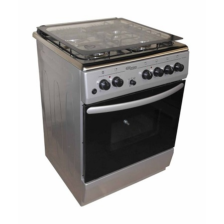 Super General SGC6470MS, Electric Cooker- 3 Gas Burners + 1 Hot Plate