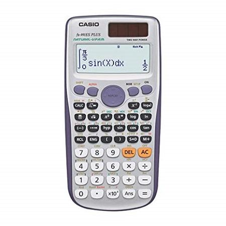 FX-991ES PLUS Scientific Calculator Calculadora Cientifica Student College Entrance Examination blue