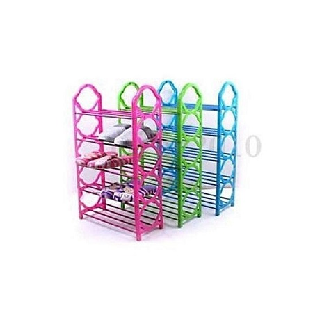 Portable Foldable Shoe Rack