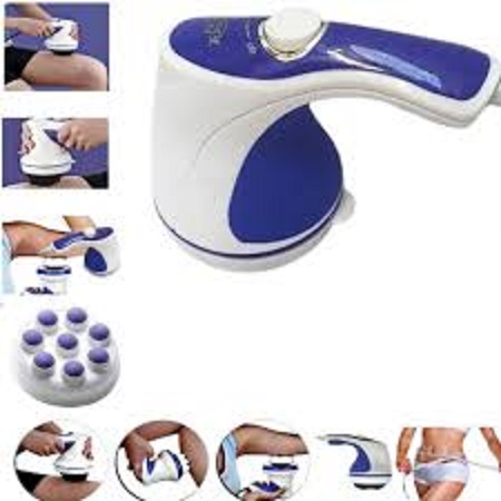 Relax & Spin Tone Slimming Toning & Relaxing Body Massager - White And Blue