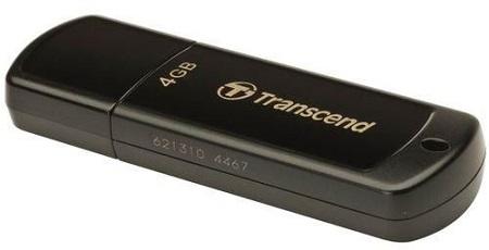 TRANSCEND Flash Disk - 4GB - Black