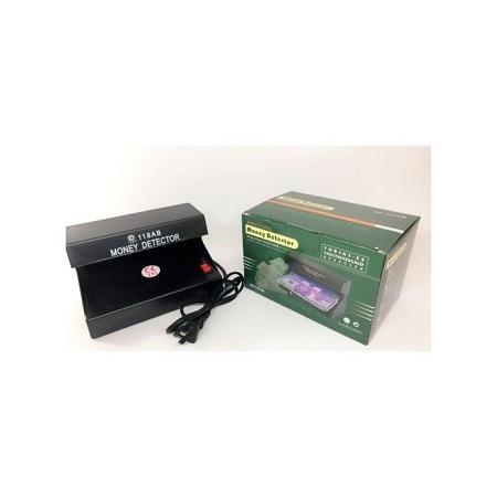 counterfeit money detector machine -ultraviolet uv detector- fake money checker black