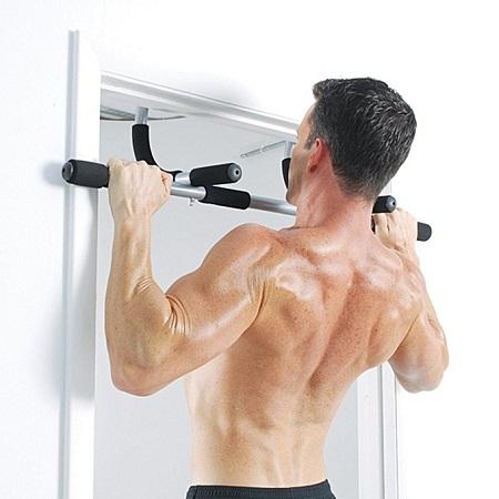 iron gym bar (door gym) black