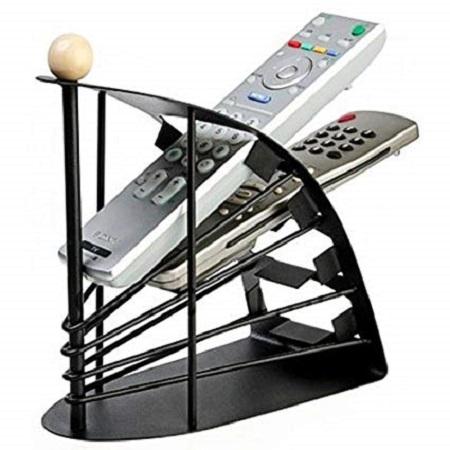 remote organiser/ holder black normal
