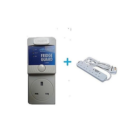 Fridge Guard With Free 4 Way Heavy Duty Power Extension