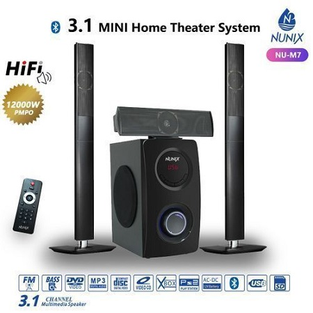 Nunix  Home Theater M7 System/quality Sound