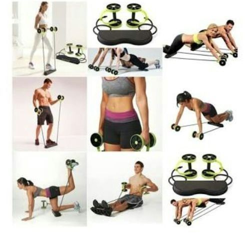 Revoflex Xtreme Home Total Body Fitness AbsTrainer Roller.