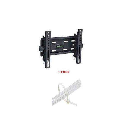 Skilltech 17 To 43 Tilt Wall Mount Bracket + Free Cable Ties