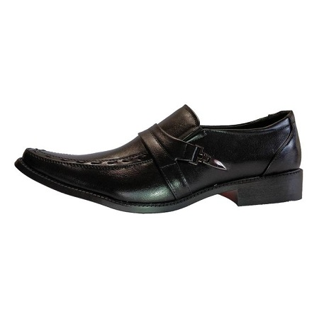 Milano Men Official Shoes/7179-9 (BLACK)