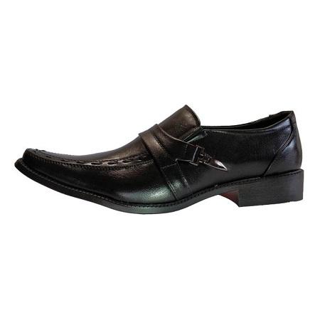 Milano Men Official Shoes/7179-9 (BLACK)