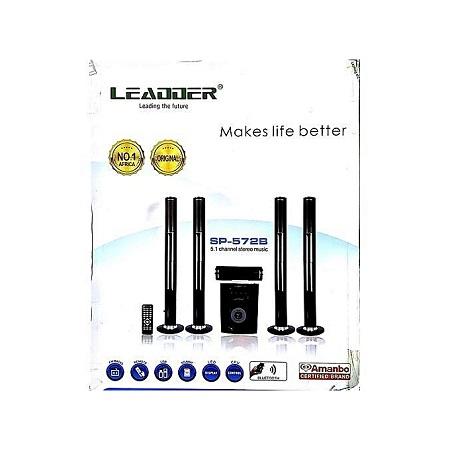 LEADDER SP-572B 5.1Ch Home Theatre - Black