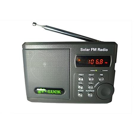 M Luck Portable Solar FM Radio